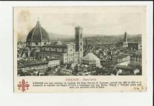 vecchia cartolina di firenze