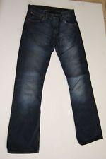 Levis 507 Jeans Hose Dunkelblau Stonewashed  W30 L34
