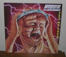 1984 NWOBHM METAL ~ FORCE ~ SET ME FREE ~ UK IMPORT ~HEAVY METAL RECORDS LP ~ NM