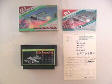 Galaxian -- Boxed. Famicom, NES. Japan game. Work fully.