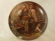 """Collector Plate """"The Cobbler"""" #8145 by Norman Rockwell"""