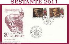 VATICANO FDC CAPITOLIUM V 109 1978 GENETLIACO PAOLO VI PAPA (475)