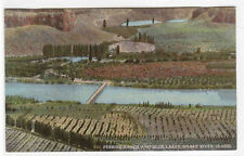Perrine Ranch Blue Lakes Snake River Idaho 1910c postcard