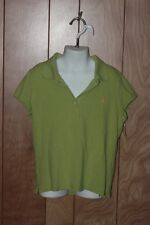 GIRL'S ABERCROMBIE POLO SHIRT-SIZE: SMALL