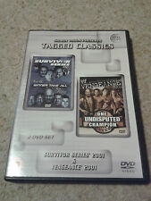 WWE Tagged Classics - Survivor Series & Vengeance 2001 DVD WWF