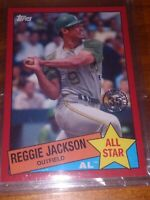 1 of 10! REGGIE JACKSON 2020 Topps Series 2/ 35th Ann All Star 1973 HR Leaders