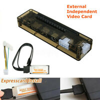 EXP GDC Laptop External PCI-E Graphics Card Dock for Beast Expresscard w/ Cable