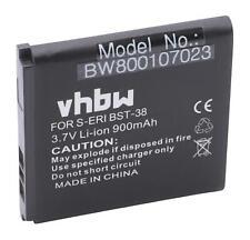 Akku für Sony Ericsson W902, W980, W980i, W995, Z770 900mAh 3,7V Li-Ion
