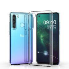 For HTC U20 5G Desire 20 Pro 19 + 12s U19e U12 Life U11 Clear Soft Gel Back Case