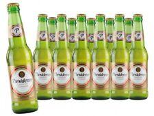 Bier PRESIDENTE 355ml aus der Dominikanischen Republik - 12er Sparpack