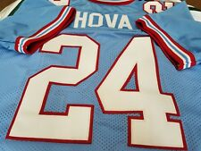#00 Houston Oilers Custom FOOTBALL JERSEY Your Name sewn on.