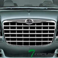LUXURY WING STYLE FRONT HOOD GRILL GRILLE EMBLEM BADGE 05-10 CHRYSLER 300 300C