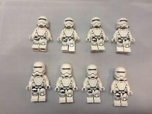 LEGO Star Wars Army 8 x First Order Flametrooper Mini Figures w/ tracking
