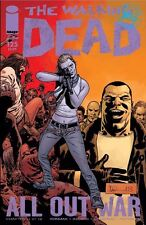 The Walking Dead #125 Image Comic Book First Printing All Out War Part 11