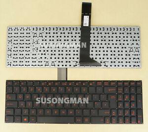 New UK Keyboard For ASUS F552V F552W P550C P550L K550C K550D K550J Laptop Red
