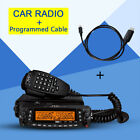 TYT TH-9800 50W Ham Radio Transceiver Walkie Talkie Quad Band +Programmed cable