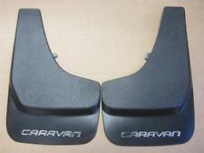 OEM 2001-2007 Dodge Caravan Front or Rear Mud Flaps Guards Set Textured Black