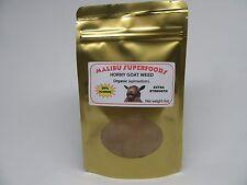 Horny Goat Weed Powder 20% ICARIIN Organic 4oz (epimedium)  Libido boost