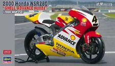 Hasegawa 21703 1/12 Scale Model Kit Shell Advance Honda NSR250 WGP250 '00 Ukawa