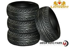 4 X New Lionhart LH-Three II 245/40R20 99W XL All Season High Performance Tire