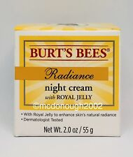 Burt's Bees Radiance Night Cream With Royal Jelly 2oz New/Sealed Free Shipping!