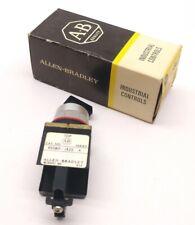 In Box ALLEN-BRADLEY 800MR-JX2B 3-Position Round Selector Switch Series A