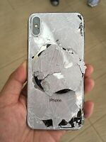 iPhone X, Xr Xs Xs max 8,8+CRACKED REAR/ BACK GLASS REPLACEMENT REPAIR SERVICE G