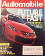 Automobile Magazine Mazda Speed 3 November 2006 080217nonrh