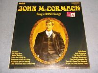 JOHN MCCORMACK SINGS IRISH SONGS VINYL LP RECORD 1969 RCA CAMDEN CMD 1024 - NICE