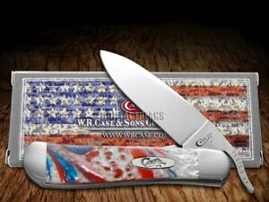 Case xx Russlock Knife Freedom Corelon Handle Stainless Pocket Knives 6084FR