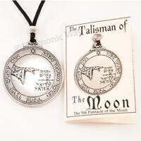 MOON Talisman Seal of Solomon Amulet Magic Pentacle Protection Pendant Necklace