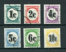 South West Africa 1961 Postage due set. Value in cents SGD57/D62