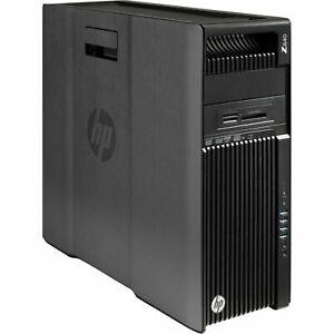 HP Z640 Workstation Xeon E5-2630 v3 8 CORE 32GB DDR4 Quadro Q600 NVIDIA PC SSD