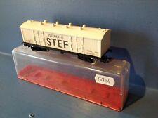 (S754) wagon marchandises STEF Jouef, ech : Ho en boite