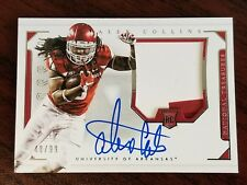 2016 National Treasures Colossal Rookie Jersey Auto #216 Alex Collins #'d 48/99