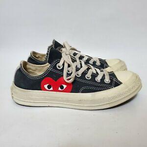 Comme des Garcons PLAY x Converse Chuck Taylor Low Sneaker Men's 5 Women's 7 US