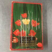 Vintage Imperial Playing Cards Floral Design Sealed