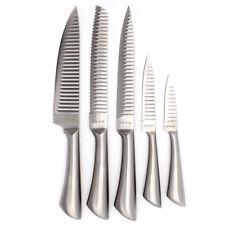 Messerset 5-teilig aus Edelstahl Messer für Magnetleiste oder Messerblock NEU