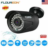 HD 1080P 3000TVL Outdoor Bullet CCTV Home Security Surveillance Camera IR Night
