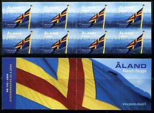 Below face D16 Aland 2004 MNH Booklet SA National Flag