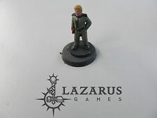 Unknown Miniature painted metal Cadet Commander w Clipboard