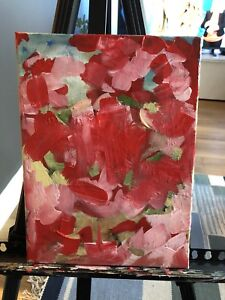 Original abstract Cherry Blossom painting
