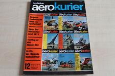 156829) Cessna 177 - Henschel HS 129 - aerokurier 12/1967
