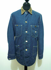 LEE VINTAGE '60 UNION MADE Giaccone Giubbotto Jeans Denim Work Jacket Sz.XL - 52