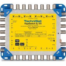 Technisat GigaSwitch 9/20 Sat/Installation Multischalter für 2 Quattro LNB´s