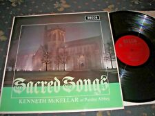 SACRED SONGS KENNETH MCELLAR AT PAISLEY ABBEY LP UK DECCA LK4913 MONO NEAR MINT