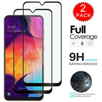 For Samsung Galaxy A50 A10e A70 A40 A30 A20 A10 Tempered Glass Screen Protector