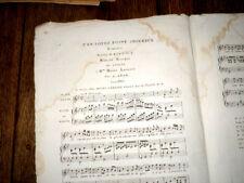 n'en soyez point amoureux romance pour piano ou harpe et chant 1830 A. Adam