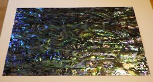 Paua / Abalone    Shell Laminate 4 Inlay - Luthier 9 x 5 inches