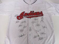 2017 Cleveland Indians Edwin Encarnacion TEAM signed autographed jersey w/ COA